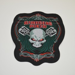 "Patch ""hardcuhe biker"""